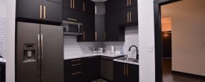 Sanders Team Realty kitchen buildout